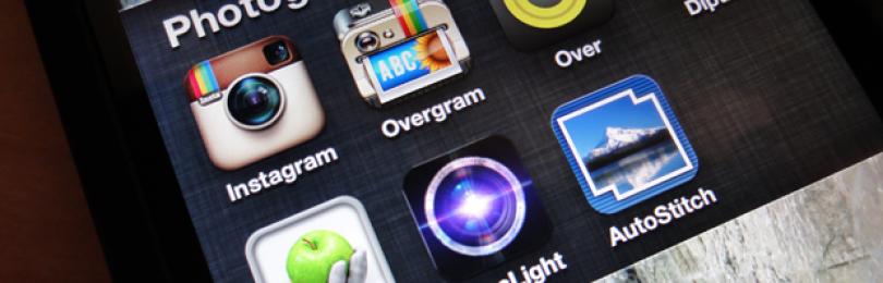 Популярные приложения для обработки фото в Инстаграм