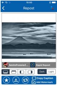 как сохранить фото из Инстаграм на телефон айфон InstaRegram