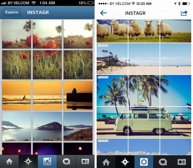зачем сохранять очередность фото в инстаграм